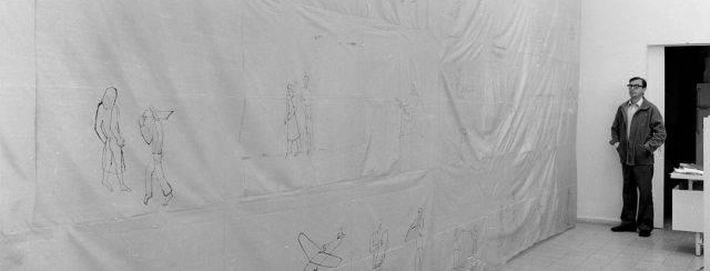 מתוך התערוכה של פנחס כהן גן בגלריה גימל, שנות ה־80