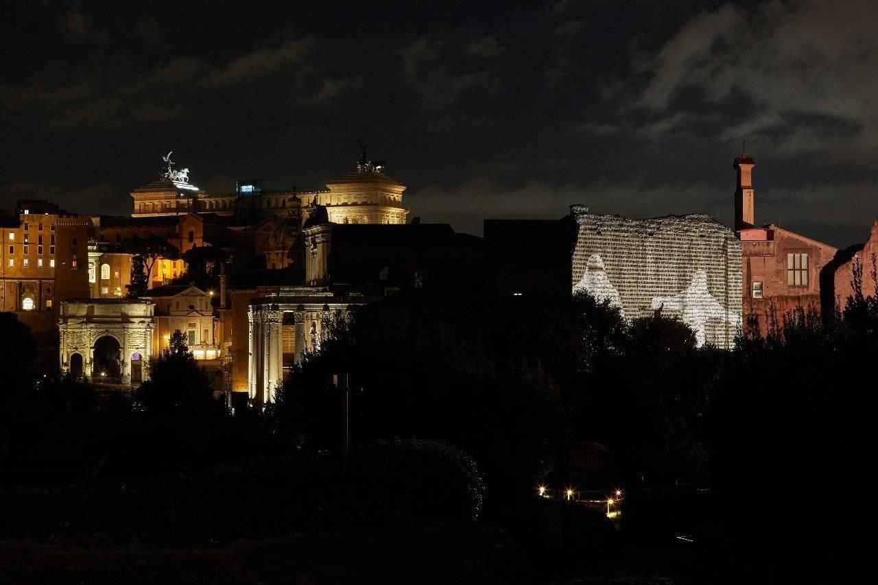 Contact בפסטיבל הסופרים ברומא, 2020. צילום: Simone d'Exea