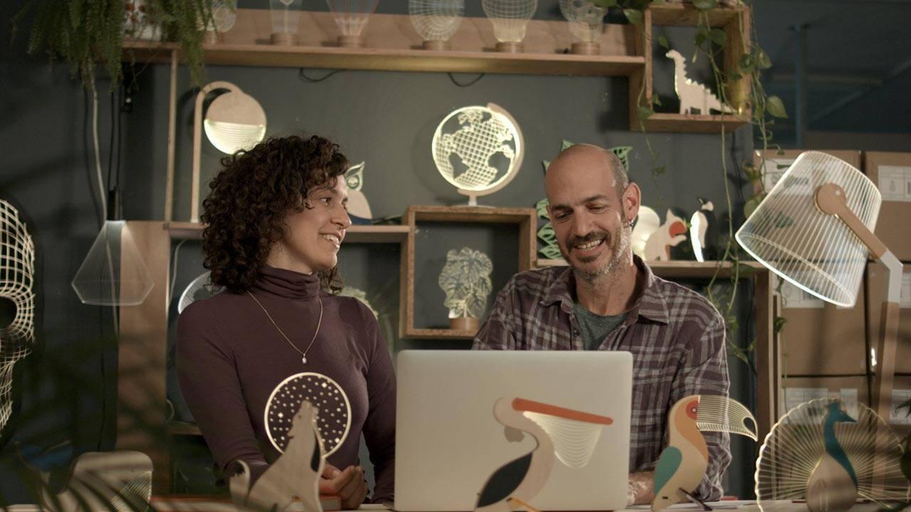 ניר צ׳חנובסקי ואיה ברין צ׳חנובסקי
