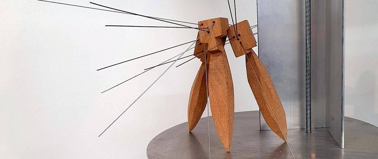 יעקב קאופמן מתוך התערוכה הִיסְטוֹרְיָא1 בגלריה B.Y5