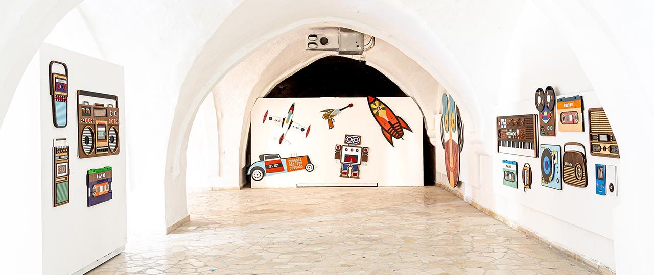 צחי נבו, ליצן החצר, מוזיאון יפו העתיקה