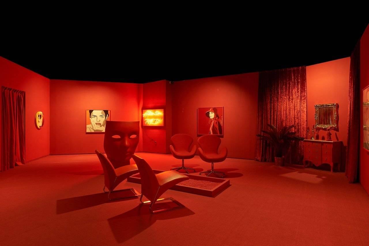 """אורית פוקס במוזיאון ארטיום, סיאול. צילומים: מ""""ל"""