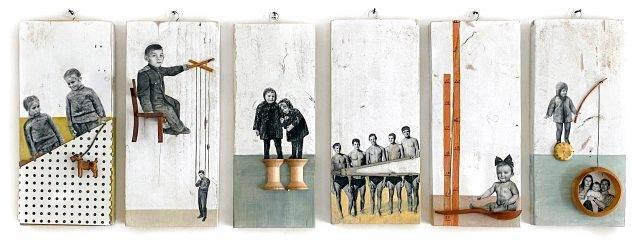נדיה גורנשטיין בגלריה BY5. צילומים: מ״ל