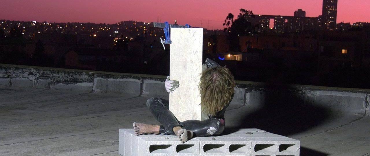 ניקולאוס אקהארד, תיעוד פרפורמנס בשיתוף כריסטוף ובר ואבנר פינצ׳ובר, ירושלים 2021. צילומים: מל