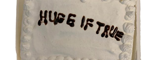 Auto Christ, עוגה, מתוך התערוכה רעידות נפשיות דקות