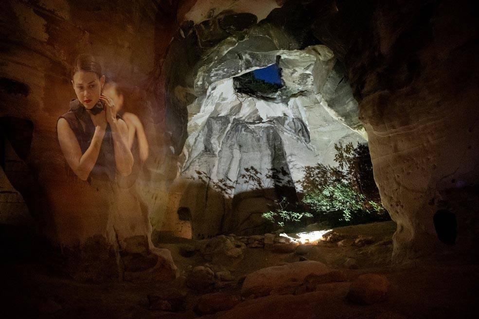 ליבה, ורטיגו במערות בית גוברין