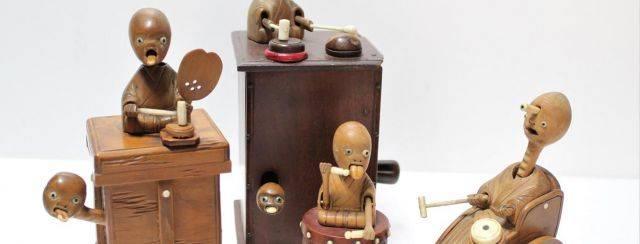 נוגוצ׳י היאקידו, בובות קובה, סוף המאה ה־19. צילומים: מוזיאון הצעצועים של יפן