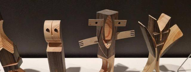 1001 דמויות, יעקב קאופמן במוזיאון ישראל. צילומים: ענבל כהן חמו
