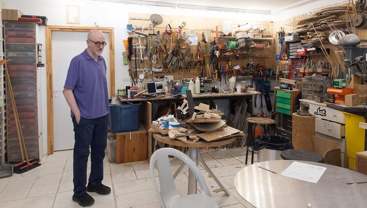 יעקב קאופמן בסטודיו