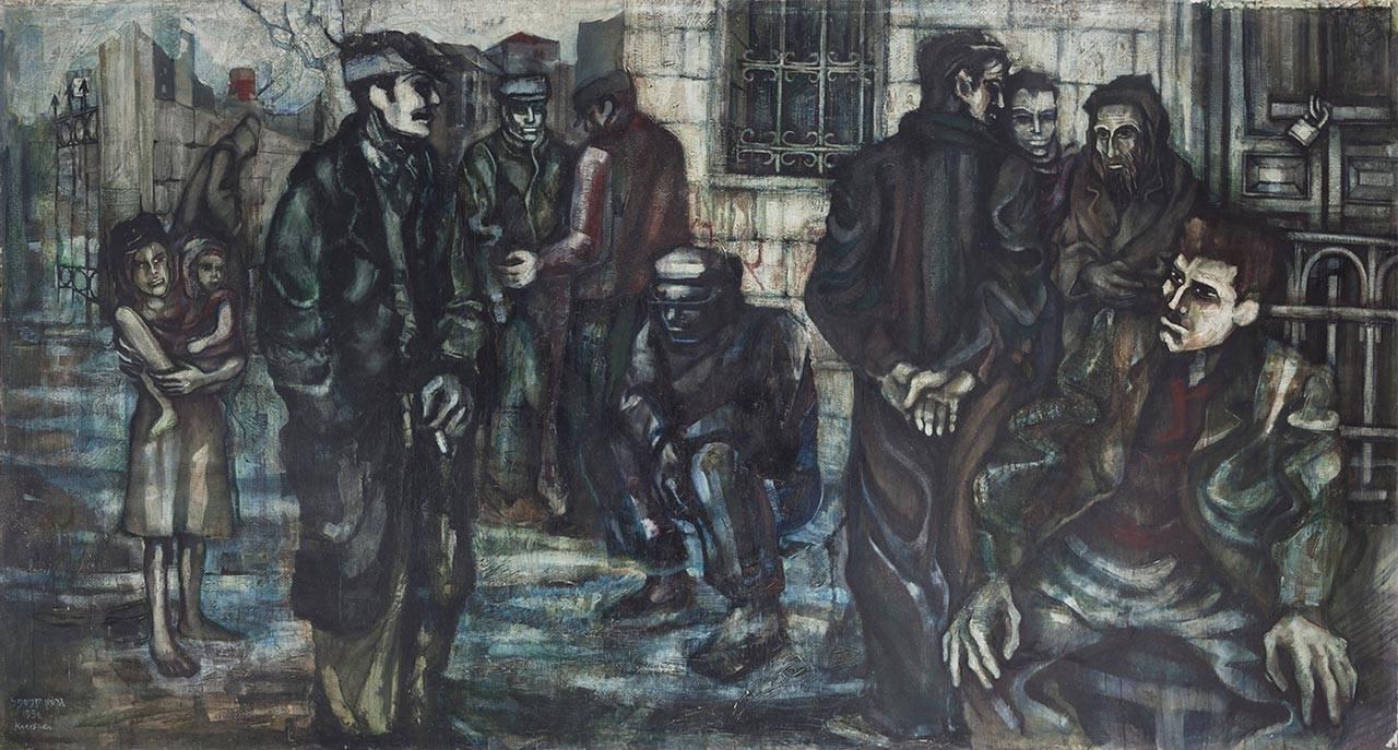 גרשון קניספל, לשכת העבודה, 1956.