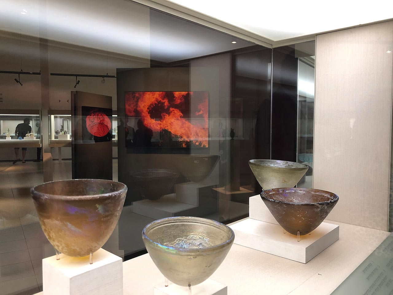 פרנצ׳סקה פיקארס (צרפת), ביתן הזכוכית