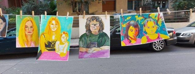 הברביזון החדש מציירות נשים. צילום חגית