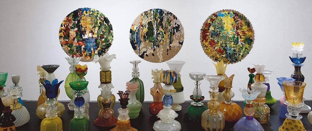 שולי בורנשטיין וולף בבית האמנים תל אביב. צילומים: אבי אמסלם