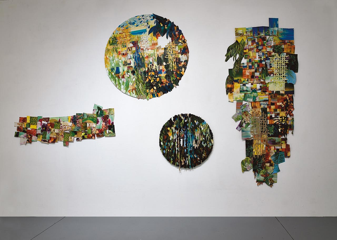 ויטראז׳ים רכים, בית האמנים תל אביב. צילומים: אבי אמסלם